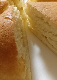 炊飯器で!おからパウダーパンケーキ