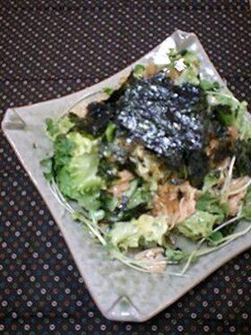 メンマと韓国海苔のサラダ