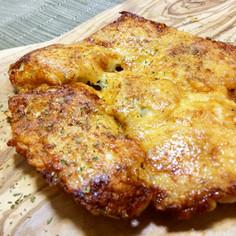 鶏むね肉のかりかりチーズ焼き!
