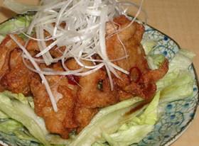 四川風 鶏のから揚げ