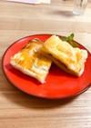 ブルーチーズ&はちみつ&リンゴのパイ