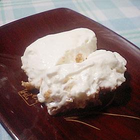 ふわふわヨーグルトチーズケーキ