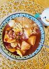 クスクスの野菜スープかけ