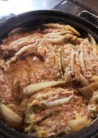 白菜と豚ひき肉のお鍋*ミルフィーユ