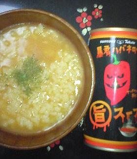暴君ハバネロの旨スープ粥。