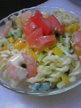 クルルマカロニのサラダ☆
