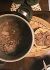 圧力鍋で鹿肉のワイン煮