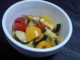 カラフル焼き野菜の柚子マリネ