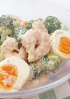 海老とブロッコリーのクリーミー胡麻サラダ