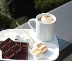 焼きマシュマロホットチョコレート