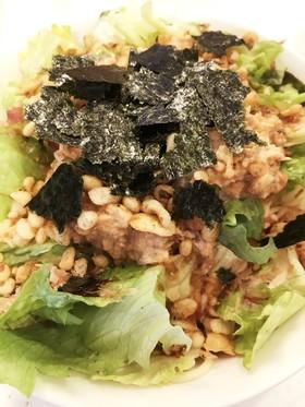 【低糖質】超時短 糖質0麺サラダうどん