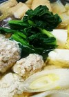 鶏団子鍋とつくねタレ焼き