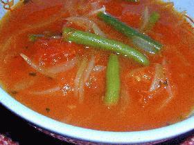 トマト缶を使ったお手軽スープ