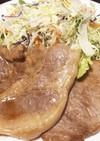 豚肩ロースの和風ステーキ