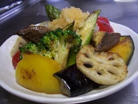 野菜を食べよッ☆ヘルシー焼き野菜♪