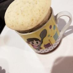 米粉マグカップケーキ
