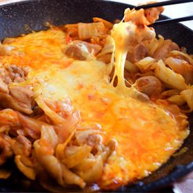 キムチで作る!簡単チーズタッカルビ