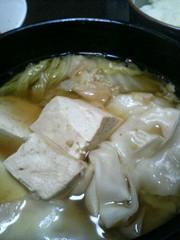 簡単水炊きIN餃子の写真