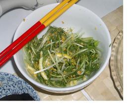 ☆水菜と柚子のさっぱりサラダ★