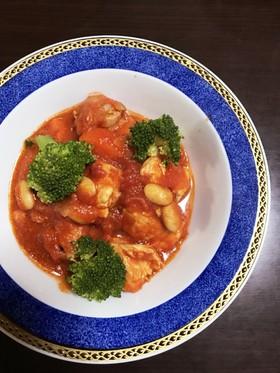 簡単♪鶏肉のトマト煮