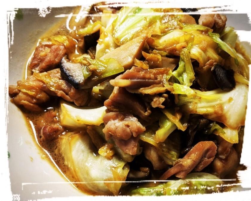 ☆セセリとキャベツのバター醤油焼き☆