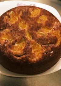 炊飯器とHMでみかんココアのホットケーキ