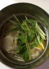 豆苗のスープポットパスタ♡お弁当