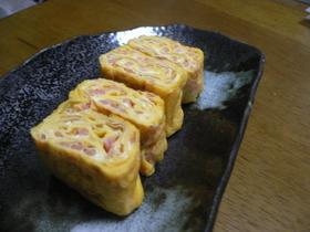 お弁当に☆紅しょうがの卵焼き