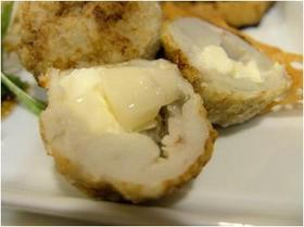 胡桃とクリームチーズの里芋団子