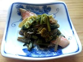 鮭の野菜焼き