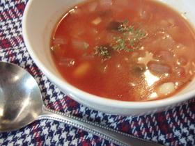 食べるスープ☆ミネストローネ