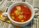 あったかニョッキとトマトのスープ