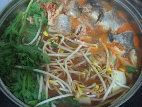 韓国・トンテタン(冷凍タラの鍋)
