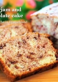 簡単★クランベリーのふわっとチョコケーキ