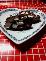 チョコクッキーマシュマロ♥パックで~~♪の写真