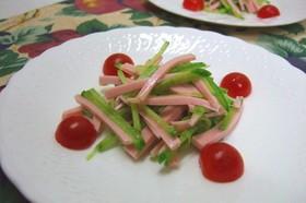 おさかなのソーセージと大根のサラダ☆