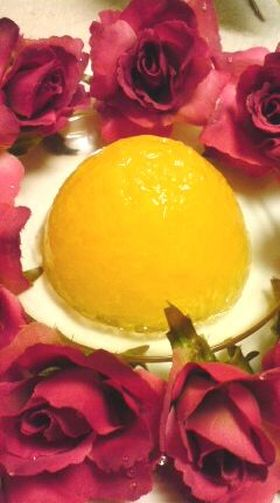 ゚.:。ヨーグルトムース&柑橘。.:゚.