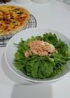 簡単!おいしい!春菊とツナのサラダ