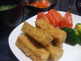高野豆腐でフライドチキン?!
