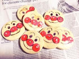 オブラート de アンパンマンクッキー