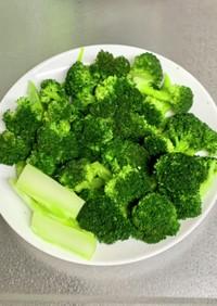 栄養keep旨味upブロッコリーの茹で方