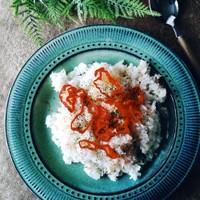 美味しい ♫缶単蟹の洋風炊き込みライス
