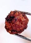 鶏むね肉5:もも肉5の肉団子