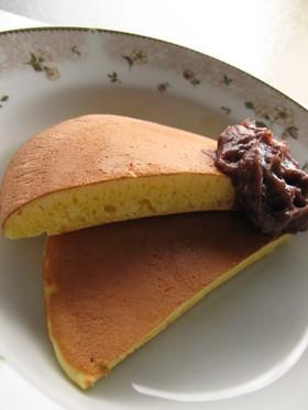 さっぱり♪柚子餡ホットケーキ