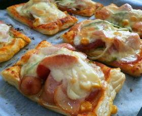 冷凍パイシートで簡単☆ピザ