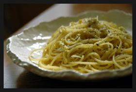 しらすと卵のスパゲッティ
