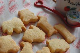 材料4つ!基本の型抜きクッキー☆