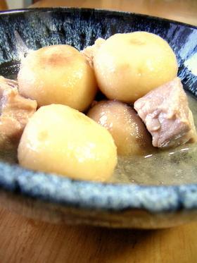 豚バラと里芋のつゆたっぷり煮込み