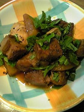 [炊飯器] 豚角煮