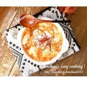 包丁なし!簡単チーズ豆乳スンドゥブの写真